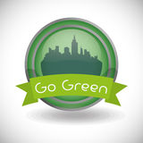 Go green design Royalty Free Stock Photo