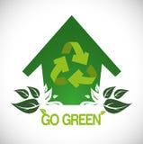 Go green design Stock Image