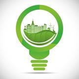 Go green design Royalty Free Stock Image
