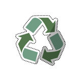 Go green ecology Royalty Free Stock Image