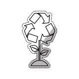 Go green ecology Stock Photos