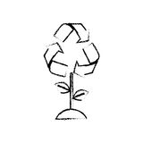 Go green ecology Stock Images