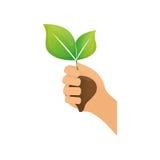 Go green ecology Stock Image