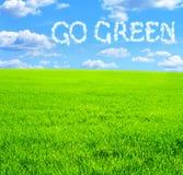 Go Green Royalty Free Stock Photos