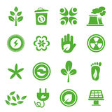 Go Green Icons set - 04 Royalty Free Stock Photography