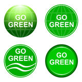 Go green Stock Photo