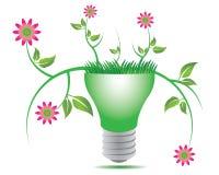 Go green lamp Royalty Free Stock Image