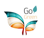 Go green. Leaf nature concept Stock Photo