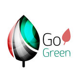 Go green. Leaf nature concept Royalty Free Stock Photo