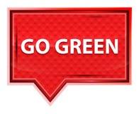 Go Green misty rose pink banner button stock illustration