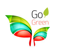 Go green nature concept Royalty Free Stock Photo