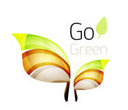 Go green nature concept Royalty Free Stock Images