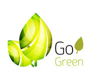 Go green nature concept Royalty Free Stock Photography