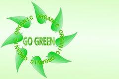 Go green Nature ecology organic concept Stock Photos