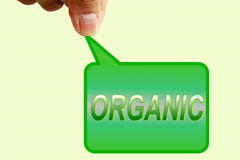Go green Nature ecology organic concept Stock Images