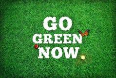 Free Go Green Now Stock Photo - 34262220