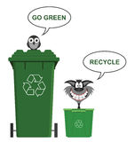 Go Green recycle Royalty Free Stock Image