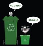 Go Green recycle Royalty Free Stock Photos