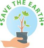 Go Green, Reforestation Stock Images