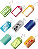 Go Green / Sale Tags Stock Image