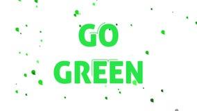 Green energy concept animation