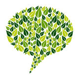 Go Green social marketing campaign Royalty Free Stock Images