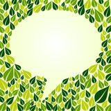 Go Green social marketing campaign Stock Photography