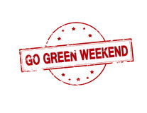 Go green weekend Stock Photography