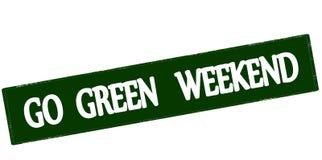 Go green weekend Stock Photos