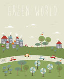 Go green World design Royalty Free Stock Photography