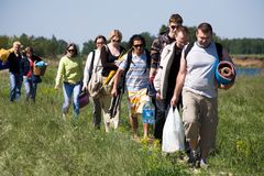 Go hiking Royalty Free Stock Photo
