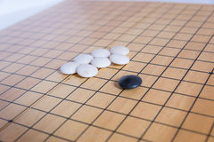 Go, japanese board game Royalty Free Stock Photography