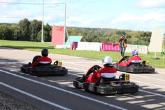 Go-kart Royalty Free Stock Photography