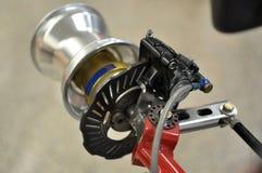 Go kart disc brakes Stock Image