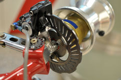 Go kart disc brakes Stock Photography