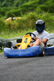 Go kart number four. Go kart with number four Royalty Free Stock Image