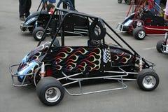 Go-Kart Race Royalty Free Stock Photos