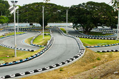 Go Kart Race Track. Stock Photos