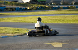 Go-kart racer Royalty Free Stock Images
