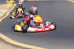 Go Kart Racers Royalty Free Stock Images