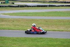 Go Kart Racing Stock Images