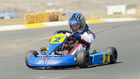 Northern Nevada Kart Club Racer Stock Photography