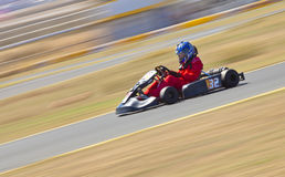 Northern Nevada Kart Club Panning Stock Photo
