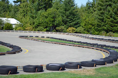 Go-Kart Track Royalty Free Stock Photos