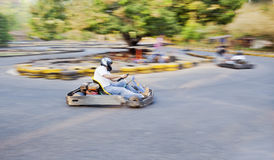 Go Kart Track Goa India Stock Image