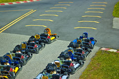 Go-Karts Royalty Free Stock Photography