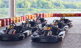 Go karts Royalty Free Stock Images