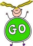 Go kid Stock Image