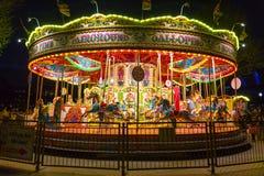 go merry night round Στοκ εικόνα με δικαίωμα ελεύθερης χρήσης