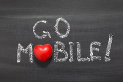 Go mobile Stock Images
